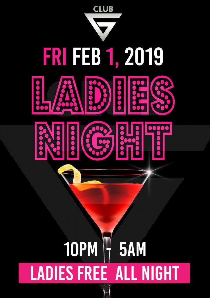女性完全入場無料 Ladies Free All Night