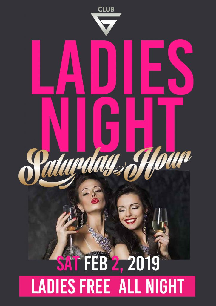 Ladies Free All Night 女性完全入場無料